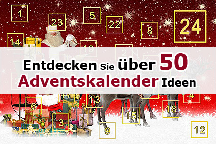 was kann man in einen adventskalender tun